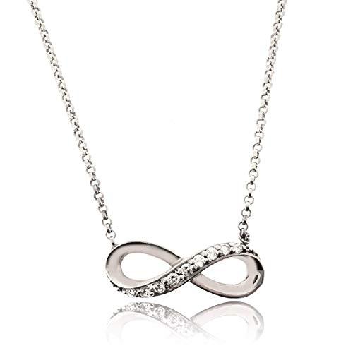 Sovats Damen Unendlichkeitszeichen Halskette