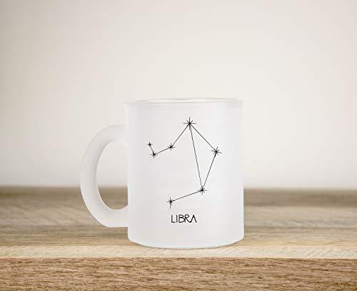 Zachrtroo weegschaal sterrenbeeld weegschaal astrologie sterrenbeeld beker vriendin geschenk beste vriend cadeau sterrenbeeld hemelsster kaart
