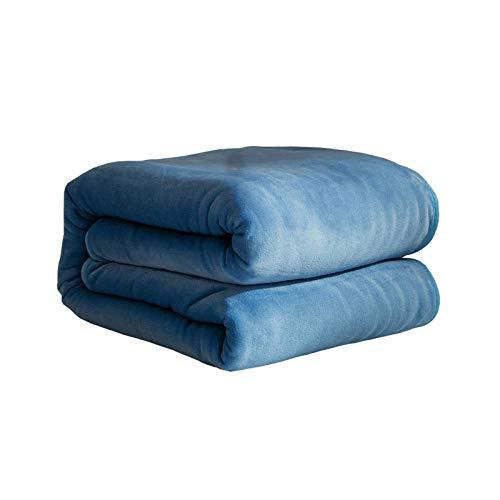 XUMINGLSJ hochwertige Wohndecken Kuscheldecken, extra warm Sofadecke/Couchdecke in zweiseitig,super flausch Decke als Sofaüberwurf oder Wohnzimmerdecke -5_120 cm x 200 cm