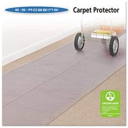 ES Robbins - Alfombra de pasillo (36 x 240, 2 unidades), transparente
