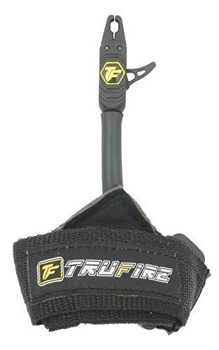 Compound Bow Release - Adjustable Black Wrist Strap, Black