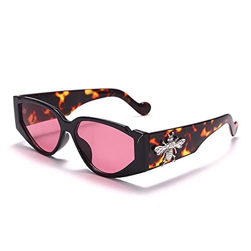 ShZyywrl Gafas De Sol De Moda Unisex Gafas De Sol Vintage De Ojo De Gato para Mujer, Gafas De Cristal Retro para Mujer, Anteojos Steampunk, Gafas para Mostrar