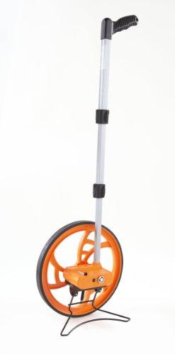 Keson RR318N Contractor Grade Measuring Wheel, Ft. & In., Ft. & In., 12-1/2-Inch Diameter, Orange,...