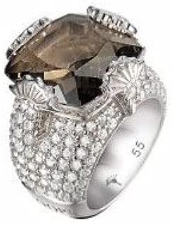 Ring J JOOP blau Stein 925 Sterlingsilber Siegelring Stein Blau Größe 55