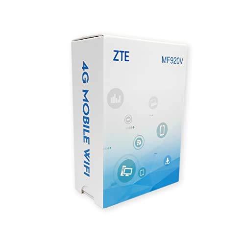 ZTE MF920V 4G Kostengünstiger Reise-Hotspot, für alle Netzwerke freigeschaltet - Weiß