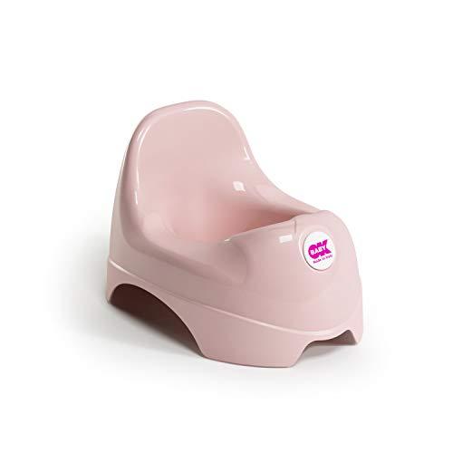 OKBABY Relax 37095435 Vasino per Bambini con Schienale Rialzato, Rosa
