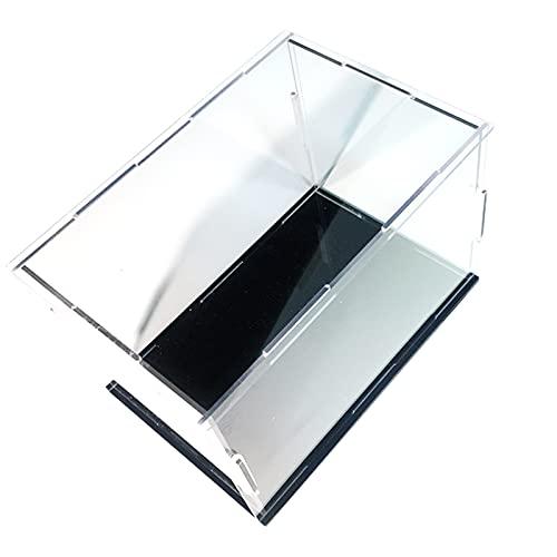 LM-Coat rack XINGLL Acrílico Vitrina Transparente, Caja Protectora Prueba Polvo para Coleccionables, Figuras, Modelos De Muñecas, Coches, Juguetes, Bloques, Almacenamiento Béisbol