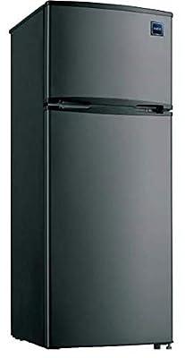 7.4 Cubic Foot Stainless Steel Look Refrigerator