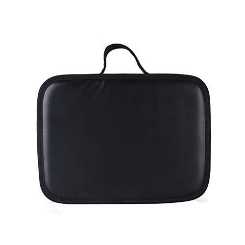 Salon barbier coiffeur ciseaux peignes outils sac sèche-cheveux ventilateur de rangement étui à main,Black,26x20x7cm