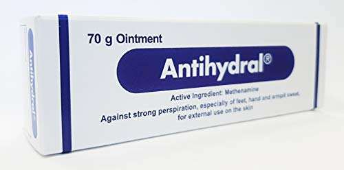 Antihydral Cream - Sweaty to Dry Fingers, Foot, Armpit - Against Strong Perspiration, especially of feet, hand and armpit sweat; Excessive Sweating for Climbers