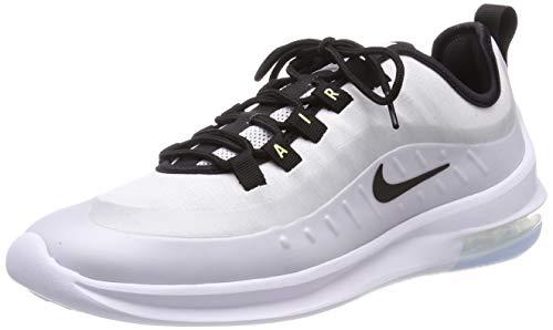 Nike Air MAX Axis Premium, Zapatillas de Running Hombre, Blanco (White/Black/Aluminium/Barely Volt 100), 49.5 EU