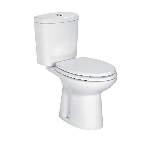Sanitari bagno Vaso WC monoblocco Sigma con coprivaso