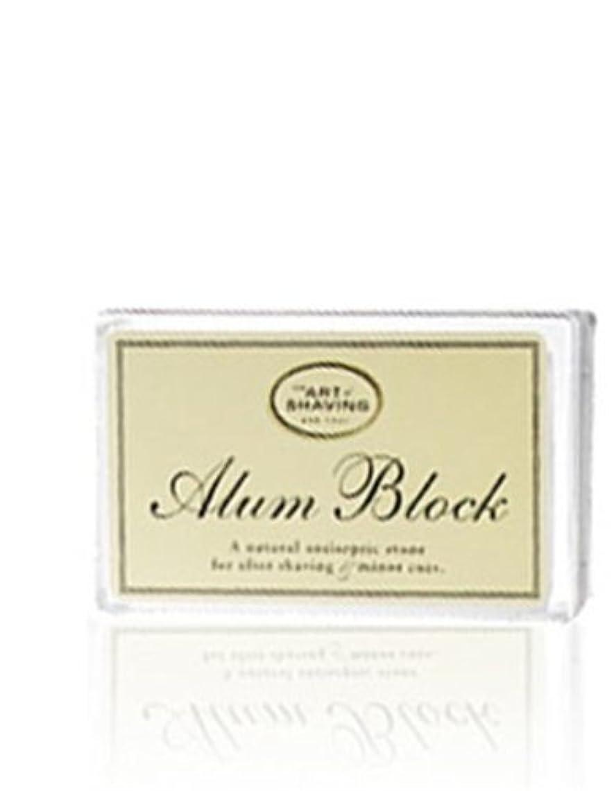 イディオム挨拶シプリーThe Art Of Shaving Alum Block Unscented (並行輸入品) [並行輸入品]