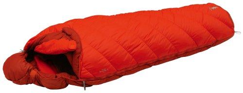 モンベル(mont-bell) 寝袋 バロウバッグ #1 オレンジ 左ジップ [最低使用温度-9度] 1121271 OG L/ZIP