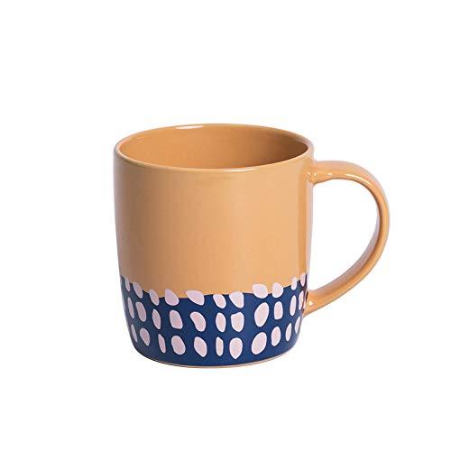 Teekanne Becher nach Hause Keramik Wasser Tasse Ideen-Verbrannte gelbe Reise Tasse