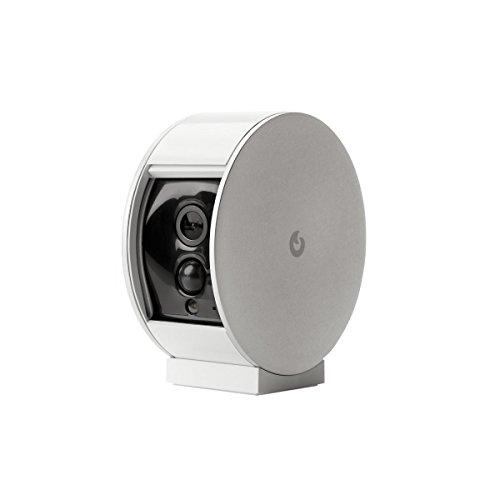 Myfox HC2 Securité Evolution - Kit centralina allarme IP + Sensore TAG + Telecomando con 4 tasti + Sensore infrarossi + Ripetitore sirena radio + IP Telecamera + Sirena Radio esterna.