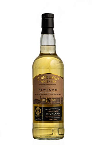 Edinburgh Whisky Edinburgh 8 Years Old Bourbon Cask Matured Blended Malt Scotch Whisky - 700 ml