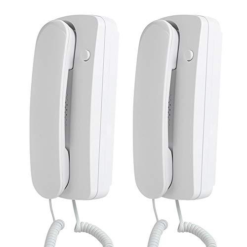 Cable Interfono Interfono Universal, MAGT Interfono no visual con cable Universal Audio bidireccional for familias