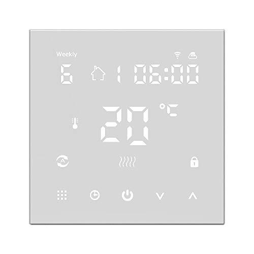Decdeal HY607 Intelligente Temperaturregler Raumthermostat Fußbodenheizung LCD Digitalanzeige WiFi Sprachsteuerung Thermostat AC90-240V