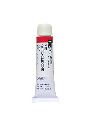 Holbein Watercolour : 5ml Tube QUINACRIDONE RED