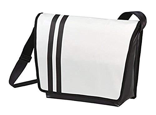 Umhängetasche Stripes Tasche Messenger Bag mit Streifen versch. Farben von notrash2003®