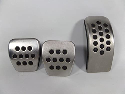Interiores automóvil 337 / 20ee Embrague de freno de gas de aluminio Pedal de aluminio Pedal Fits para VW Golf MK4 / Jetta/Bora MK4 / New Beetle/Polo 9N3 / Polo 6R