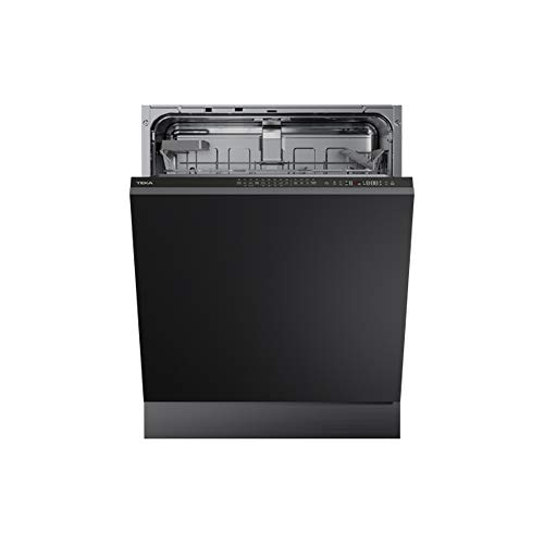Teka - Lavavajillas A++ para 14 cubiertos con tercera bandeja y 9 programas de lavado, Negro, 81.8 x 59.8 x 55 cm