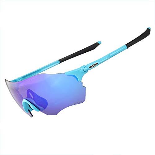 El fin del desierto Maratón de esquí de Fondo Gafas para Correr Deportes al Aire Libre Gafas para Montar a Prueba de Viento Arena Bicicleta de montaña Gafas de Sol (Color : #5)
