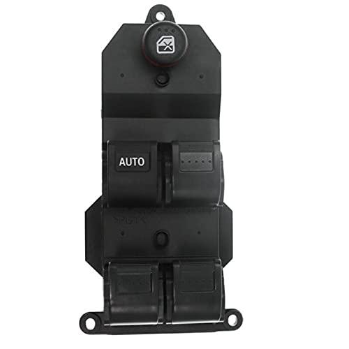 AutOcean 35750-S5A-A02ZA 35750-S6A-A02ZA Interruptor de ventanilla eléctrica Principal del Lado del Conductor Delantero Izquierdo y Derecho para Honda CR-V Civic 4 Puertas 2001-2006
