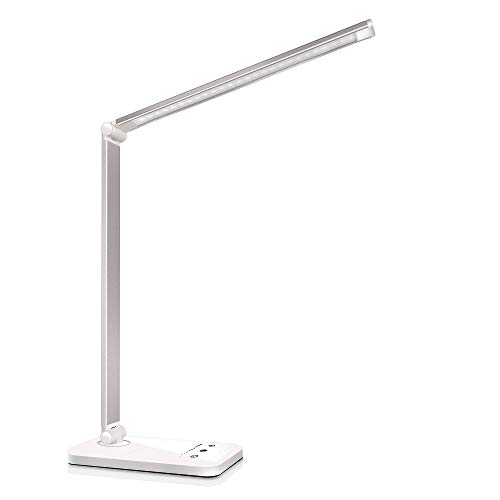 LED Desk Lamp, Eye-Caring Table Lamps,...