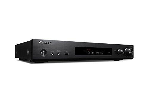 Pioneer 5.1 Kanal AV Receiver, VSX-S520-B, Hifi Verstärker 80 Watt/Kanal, Multiroom, WLAN, Bluetooth, Hi-Res Audio, Streaming, Dolby TrueHD/DTS-HD, Musik Apps (Spotify, Tidal, Deezer), Schwarz