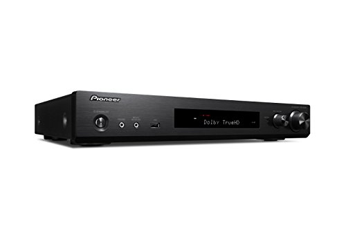 Pioneer 5.1 kanaals AV receiver, VSX-S520-B, Hifi versterker 80 watt/kanaal, Multiroom, WLAN, Bluetooth, Hi-Res Audio, Streaming, Dolby TrueHD/DTS-HD, muziek-apps (Spotify, Tidal, Deezer), zwart