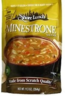 Shore Lunch Minestrone Soup Mix 9.3 OZ (Pack of 12)