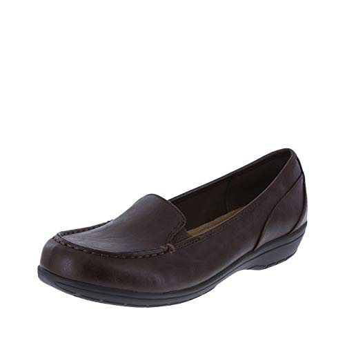 Predictions Comfort Plus Women's Brown Women's Colby Loafer 9 Wide