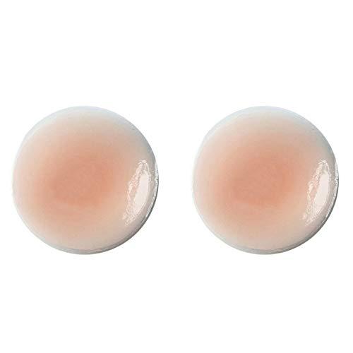 Ba30DEllylelly 1 Paar unsichtbare Brustwarzenaufkleber Weiche Silikon-Brustwarzenbrustpaste Weibliche Zitzenaufkleber Brustblüten-Brustwarzenabdeckungen
