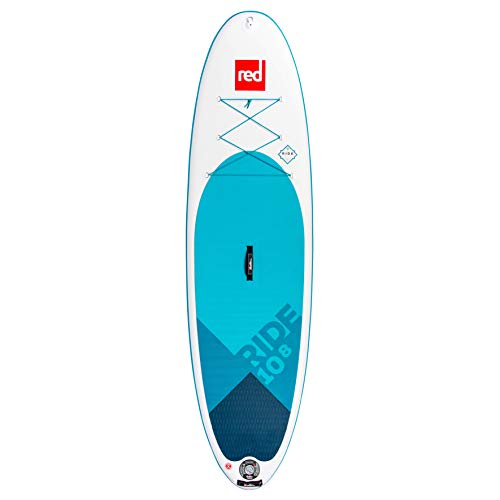 Red Paddle Co 2018 Ride 10'8 Inflatable Stand Up Paddle Board +...