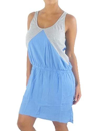 O'Neill schouderjurk zomerjurk jurk Guava lichtblauw grijs tassen