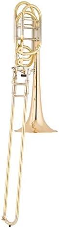S.E. SHIRES TBQ36YR Q-Series Professional Bass Trombone Lacquer