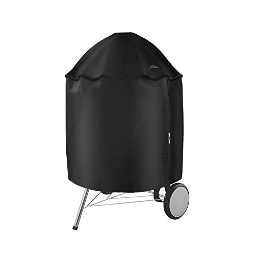 Unicook Grill Cover for Weber 22 inch Premium Charcoal Grills, Heavy Duty Waterproof Kettle Grill Cover, Fade and UV Resistant, Compared to Weber 7150