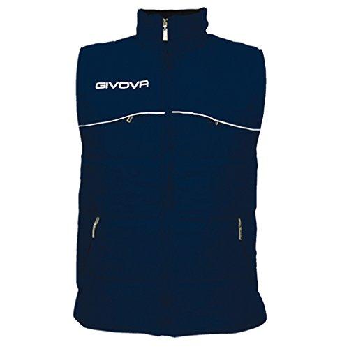 Givova, veste smanicée cold, bleu, XL
