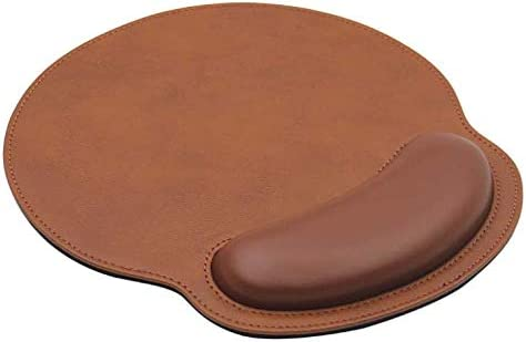 Leather Mouse Pad Wrist Support Memory - Foam Ergonomic Ranking integrated 1st place unisex Lightwei