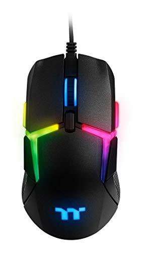 Thermaltake Level 20 RGB Gaming Mouse (GMO-LVT-WDOOBK-01), Black