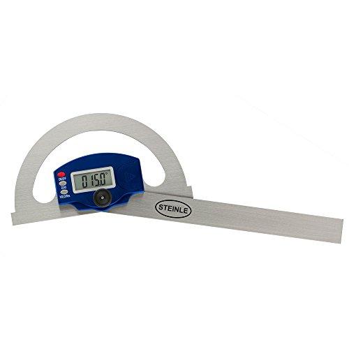 STEINLE Digital Gradmesser/Winkelmesser 150x200 mm Messbereich: 180°, Ablesung: 0,05° Genauigkeit: ±0,3°