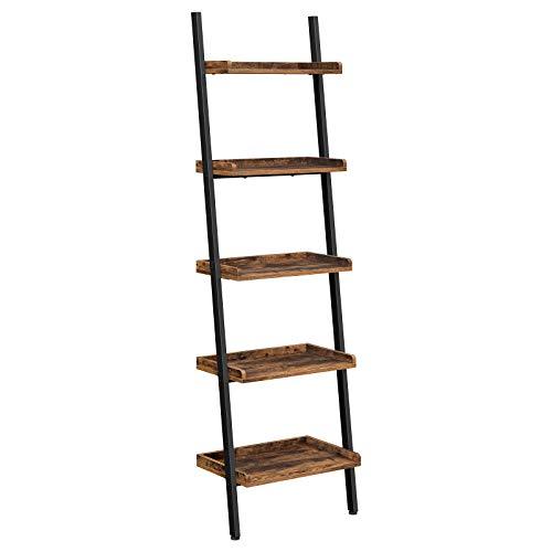 VASAGLE Ladder Shelf, 5-Tier Boo...