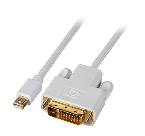 EFB Elektronik Mini DisplayPort DVI Kabel St St 1m weis