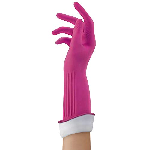 Product Image 2: Playtex Living Reuseable Rubber Cleaning Gloves (Medium, Pack – 3)