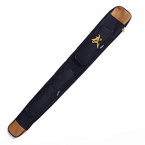 Juego de espada de Tai Chi,tela de tendón de res engrosada de una sola capa,doble capa,bolsa de equipo de artes marciales multifuncional,adecuada para Tai Chi,papel de aluminio,sable,espada y sable.