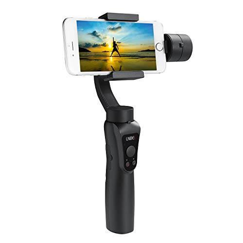 LNBEI L6 3-Axis Handheld Gimbal Stabilizer Zoom Face Tracking Time-Lapse Portable PTZ Stabilizer Panorama Mode Gopro Sports Camera for Smartphone