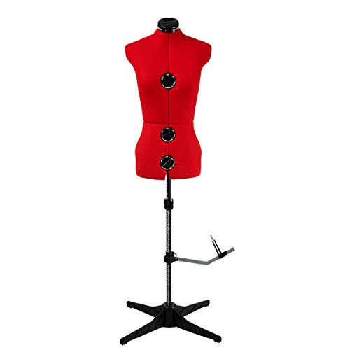 Sewing Online Mannequin Couture (Taille 38-44) - Rouge