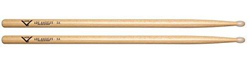 Vater 5A Nylon Tip Hickory Drum Sticks, Pair
